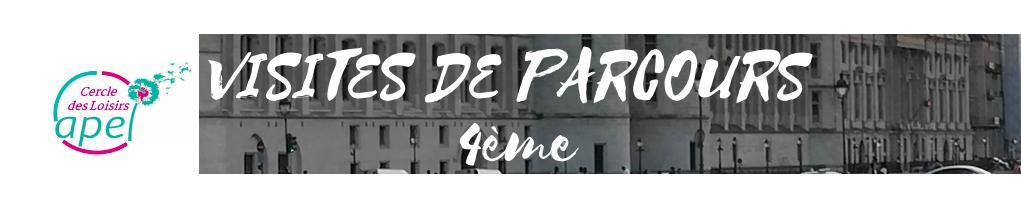 Bannière CDL Visite Parcours 4ème
