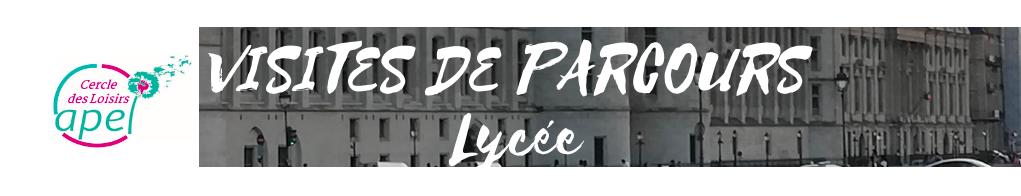 Bannière CDL Visite Parcours Lycée